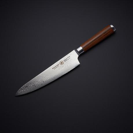 Chef Knife + Wood Handle