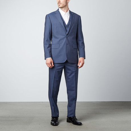 Paolo Lercara // Classic 3-Piece Suit // Navy