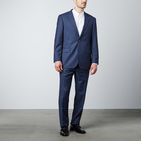 Paolo Lercara // Classic Solid Suit // Blue