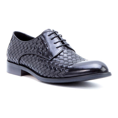 Beethoven Woven Derby // Black (US: 8)