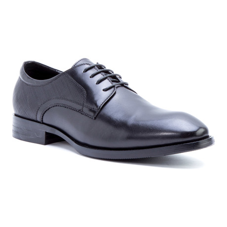 Bruckner Plain-Toe Derby // Black (US: 8)