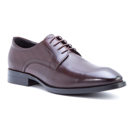 Bruckner Plain-Toe Derby // Brown (US: 8)