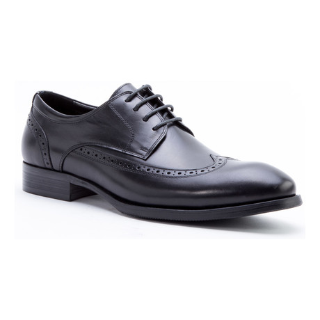 Williams Wing-Tip Derby // Black (US: 8)