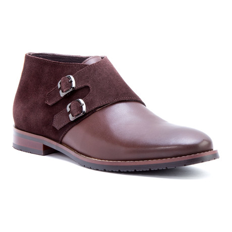 Napoli Double Monkstrap Chukka // Brown (US: 8)