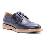 Kooning Wing-Tip Derby // Black (US: 9.5)