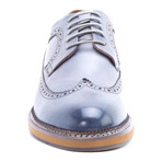 Kooning Wing-Tip Derby // Gray (US: 10.5)