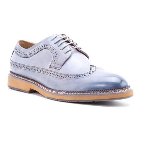 Kooning Wing-Tip Derby // Gray (US: 8)