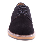 Delacroix Suede Derby // Black (US: 9)