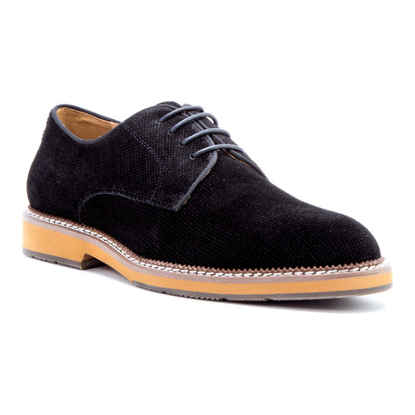 Delacroix Suede Derby // Black (US: 8)