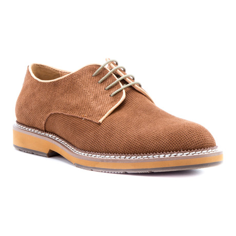Delacroix Suede Derby // Tan (US: 8)