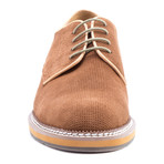 Delacroix Suede Derby // Tan (US: 10.5)