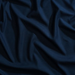 Moisture Wicking 1500 Thread Count Soft Sheet Set // Navy Blue (Full)