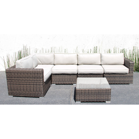 Marbella Deep Seating // 6 Piece Set