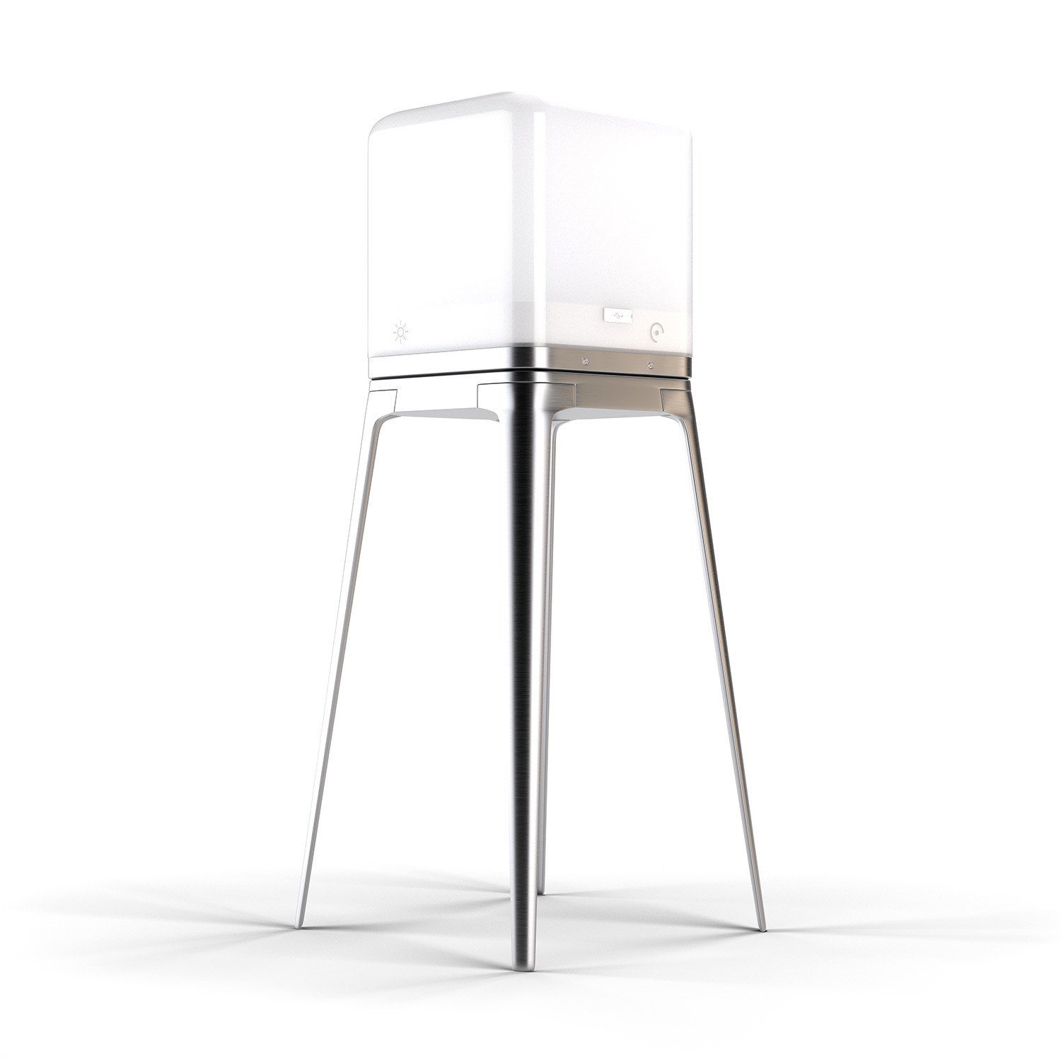 Awesome Lucis Aluminum Quad Pod Lucis Touch Of Modern Evergreenethics Interior Chair Design Evergreenethicsorg