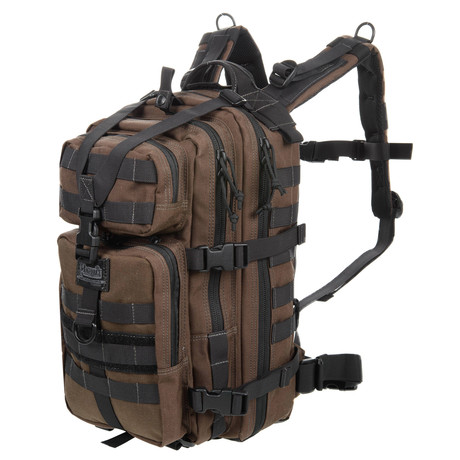 Magforce 3P Backpack // Brown
