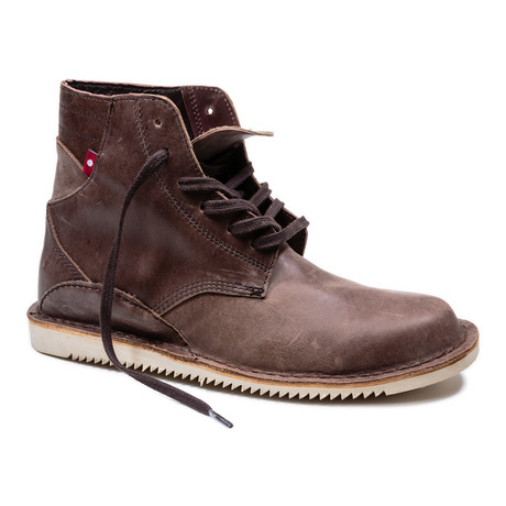 Gando Lace-Up Boot // Brown Yellow             (US: 7)