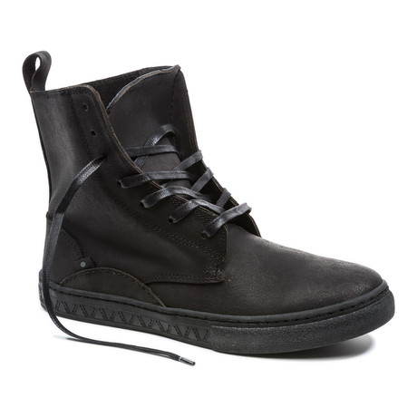 Nusnik Lace-Up Boot // Black