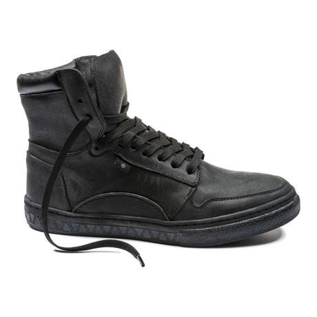 Kortino Hi-Top Sneaker // Black