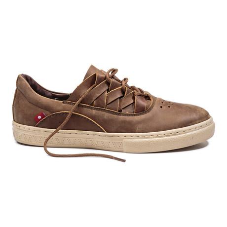 Dakugo Woven Sneaker // Saddle Brown             (US: 7)