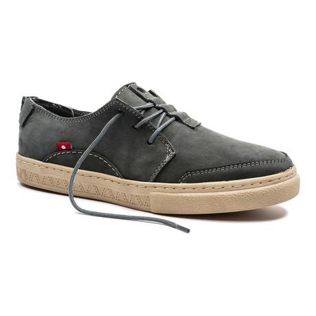 Anbesso Suede Sneaker // Dark Grey