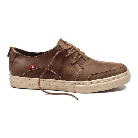 Anbesso Sneaker // Saddle Brown