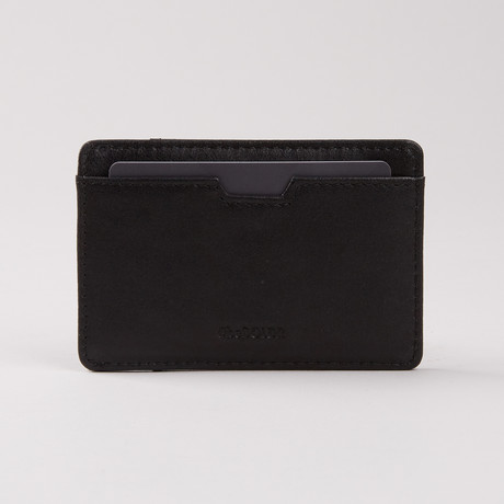 BOLDR Slim Wallet // Ever Black