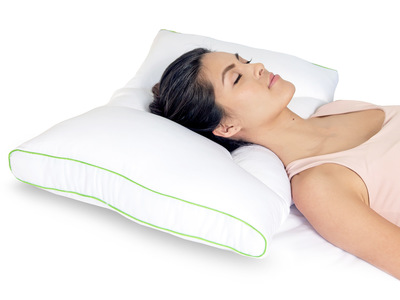 Photo of Rio Home Fashions The Complete Bedding Event Dual Sleep Neck Pillow (Medium Firm) by Touch Of Modern