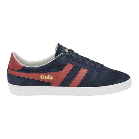 Specialist Low Top Trainer // Navy + Red