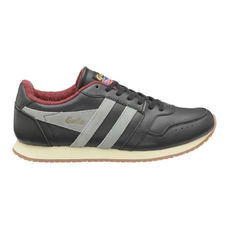 Track 1905 Low Top Trainer // Black + Grey
