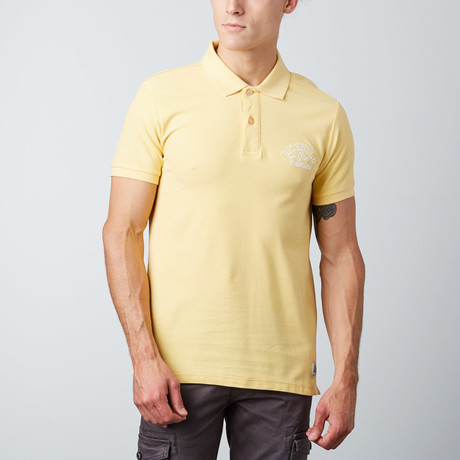 Maddox Polo // Yellow