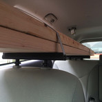 Seat Rack // Interior Cargo Rack + Camera Mount