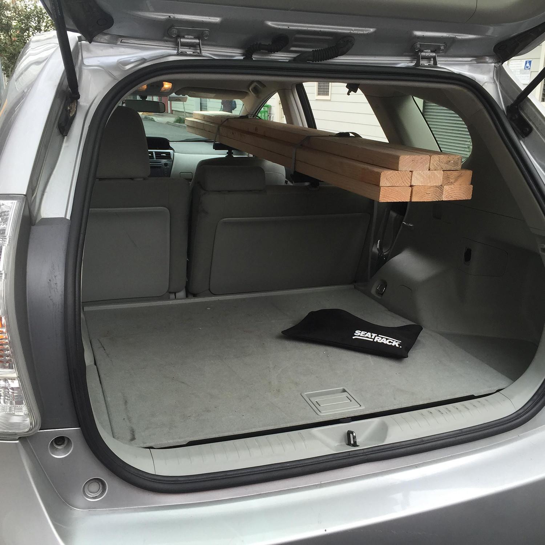 Seat Rack Interior Cargo Rack Camera Mount Seatrack Touch Of Modern