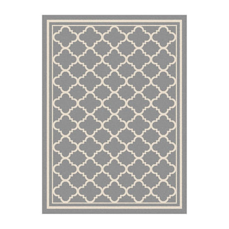 Garden City Tangier Transitional Rug // Gray