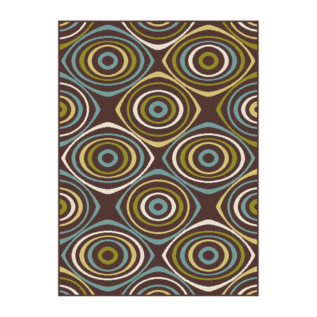 Garden City Quinn Transitional Rug // Brown