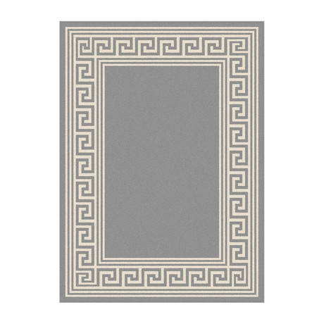 Garden City Gaia Transitional Rug // Gray