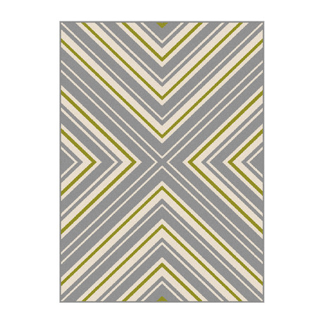 Garden City Charley Transitional Rug // Gray