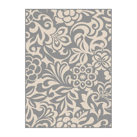Garden City Tahari Transitional Rug // Gray