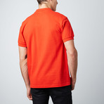 """""""1"""" Patch Polo // Red (M)"""