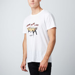Foozball Graphic Tee // White (M)