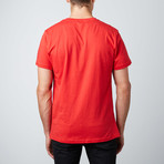 Foozball Graphic Tee // Red (M)