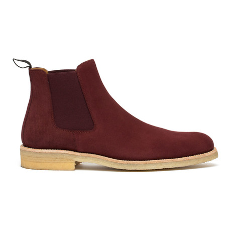 The Jude Chelsea Boot // Oxblood