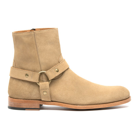 The Rose Harness Boot // Beige (Euro: 41)