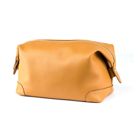 Classic Beauty Case // Light Brown