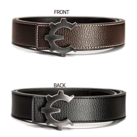 Dark Smoke Genii Belt // Brown (30)