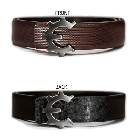 Dark Smoke Genii Belt // Brown Classic (30)