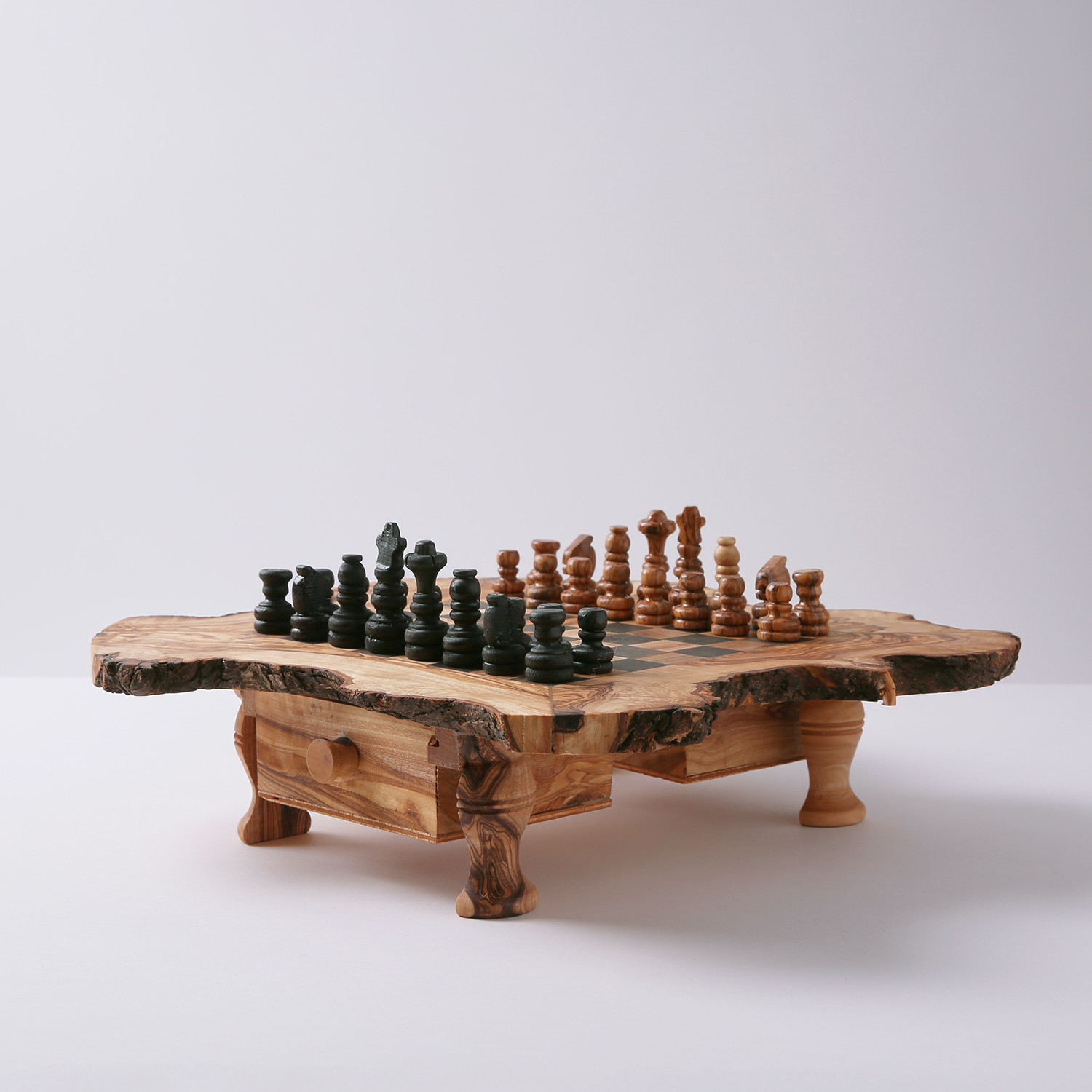 Beautiful Rustic Chess Set (Large)