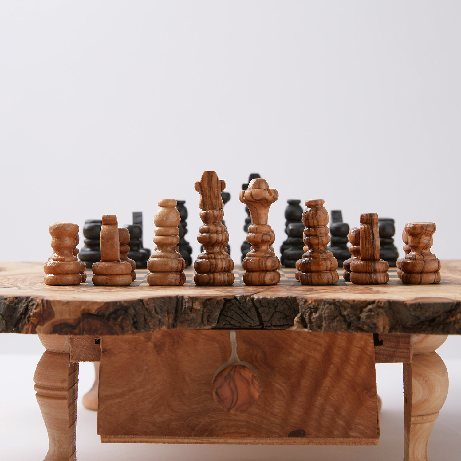 Superb Rustic Chess Set (Large)