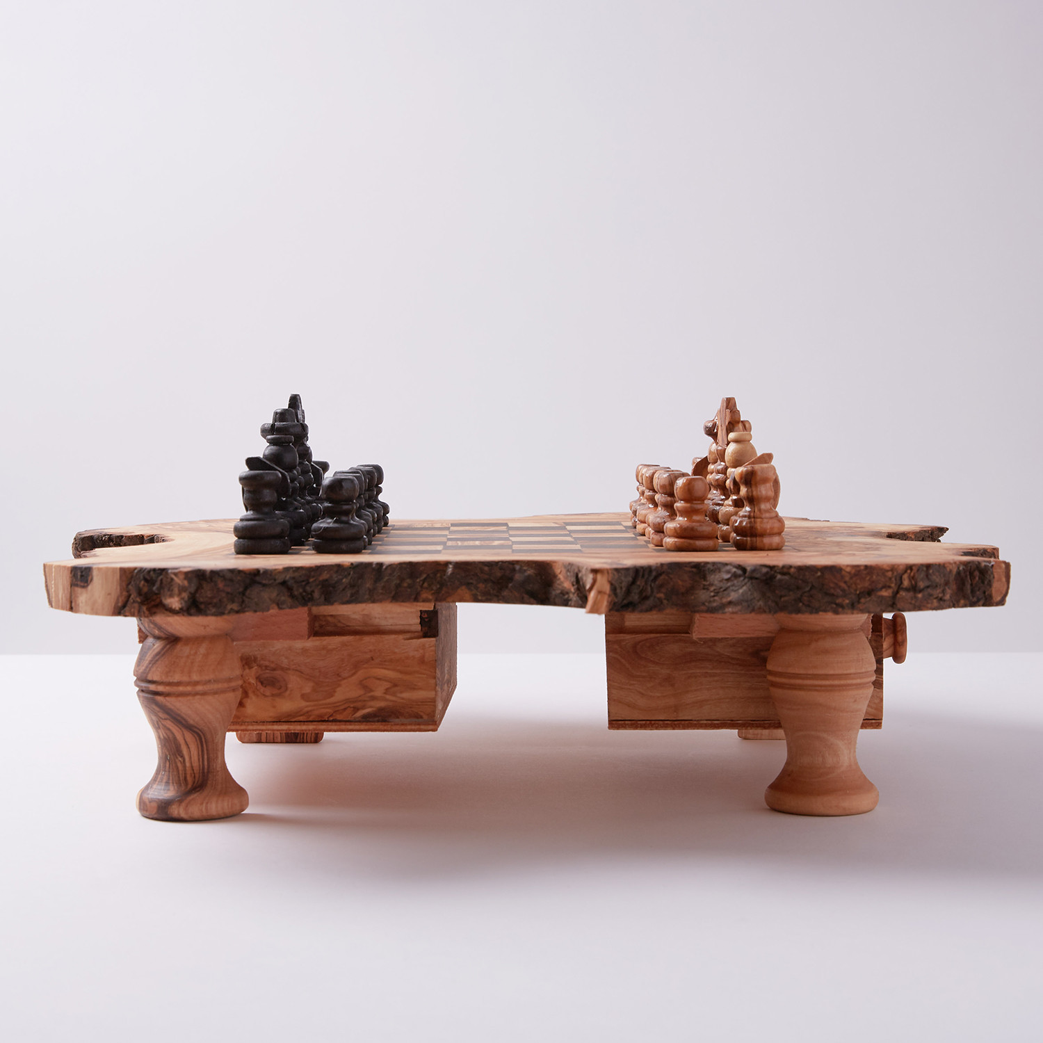 Rustic Chess Set Beldinest Touch of Modern