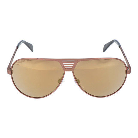 Thin Rim Square Aviator // Copper