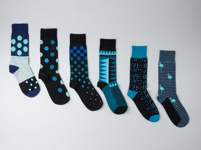 Touch Of Modern - Strollegant Better, Bolder Socks Crew Socks // Elementary Native // Pack of 6 Photo